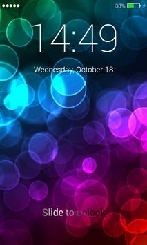 Bubbles Lock Screen apk screenshot