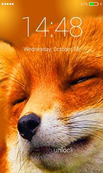 Fox Beautiful Lock Screen screenshot 4