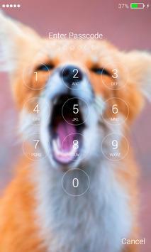 Fox Beautiful Lock Screen screenshot 5