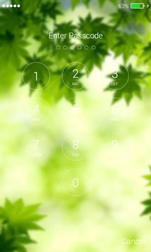Leaves Lock Screen Pro apk screenshot