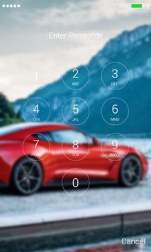 Sports Car Lock Screen apk screenshot