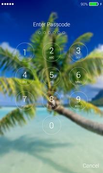Palms Lock Screen apk screenshot