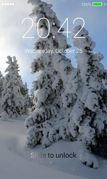 Winter Lock Screen screenshot 1