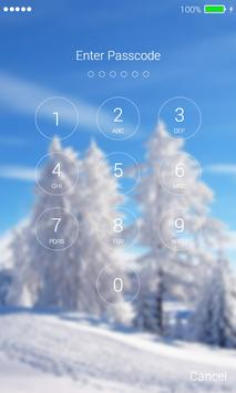 Winter Lock Screen screenshot 5