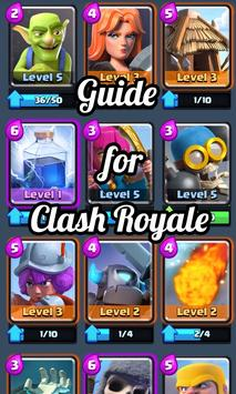 Simple Game Guide Clash Royale poster