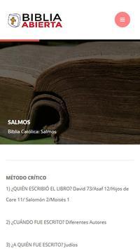 Biblia Católica Texto Biblico screenshot 1
