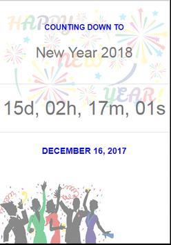Christmas 2017 & New Year 2018 Countdown apk screenshot