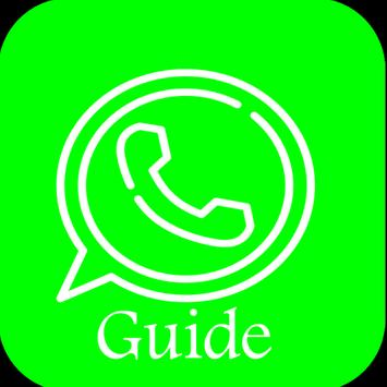 App Guide For Whatsapp poster