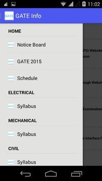 GATE Info screenshot 1