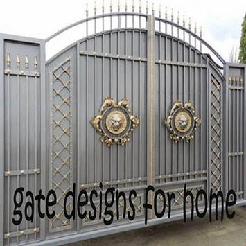 gate designs for home poster