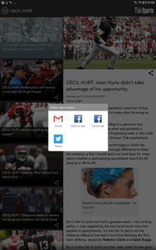 TideSports.com Alabama Sports screenshot 14