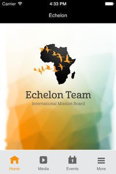 Echelon Team poster