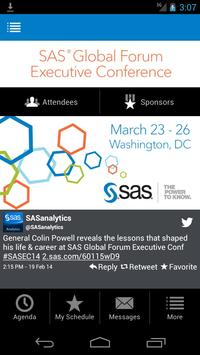 SAS® Global Forum Exec. Conf. poster