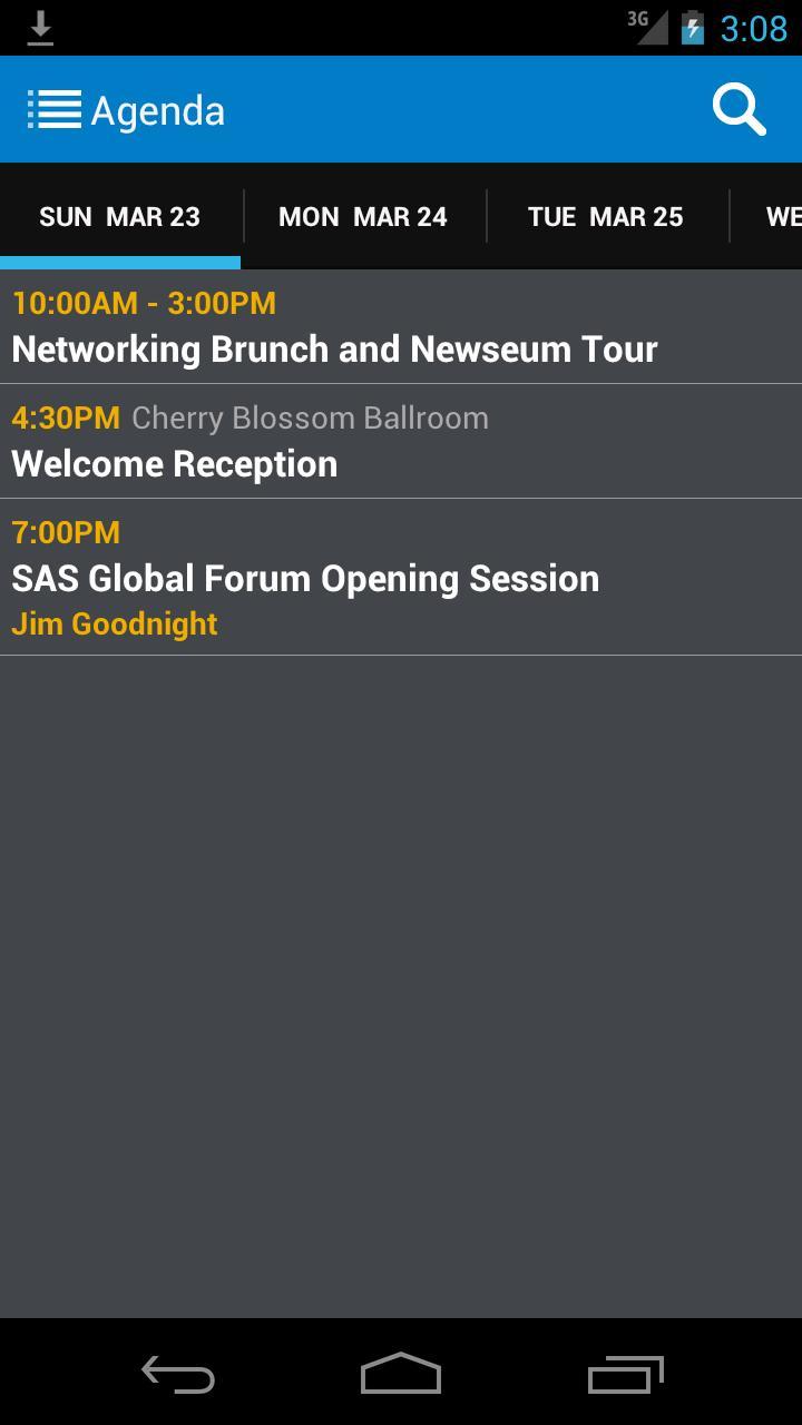 SAS® Global Forum Exec. Conf. poster
