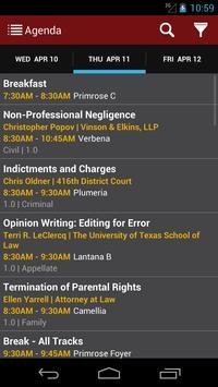 Texas Center for the Judiciary apk screenshot