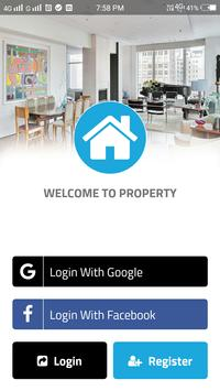 Real Estate App Template poster