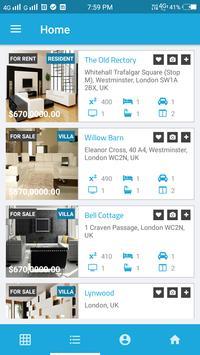 Real Estate App Template screenshot 2