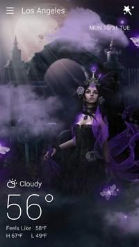 Gothic Halloween GO Weather Dynamic Backgrounds poster