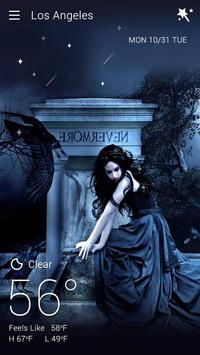 Gothic Halloween GO Weather Dynamic Backgrounds screenshot 6