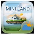 Mini Land Weather Widget Theme
