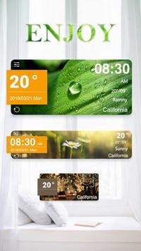 Enjoy GO Weather Widget Theme poster