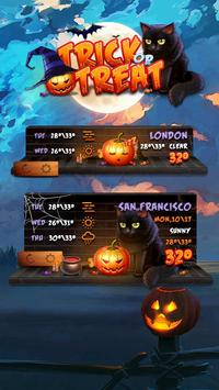 Trick or Treat GO Weather Widget Theme screenshot 1