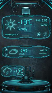 Technology GO Weather Theme poster