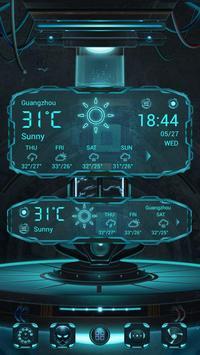 Technology GO Weather Theme apk screenshot
