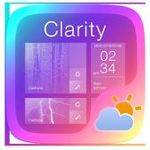 Clarity GO Weather Widget Theme icon