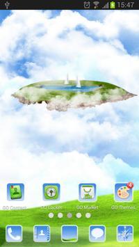 Sky World - GO Launcher Theme screenshot 2