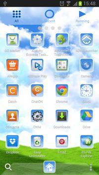 Sky World - GO Launcher Theme screenshot 7