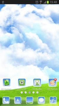 Sky World - GO Launcher Theme screenshot 5