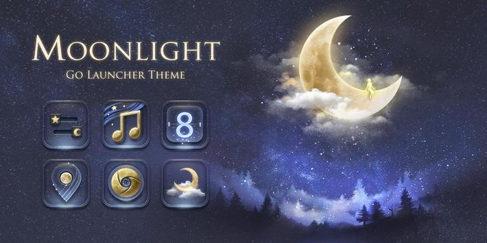 Moonlight GO Launcher Theme apk screenshot