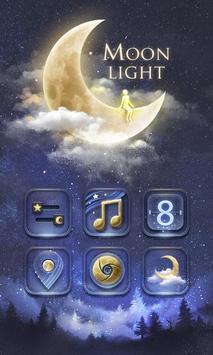 Moonlight GO Launcher Theme poster