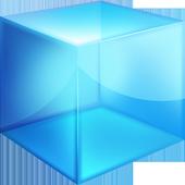 Blue Cube Theme GO Launcher EX icon