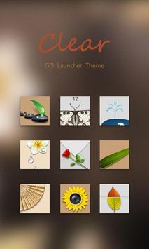 Clear GO Launcher Theme poster