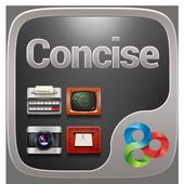 Concise Go Launcher Theme icon
