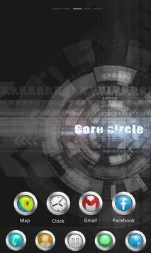 Core circle GO Launcher Theme poster