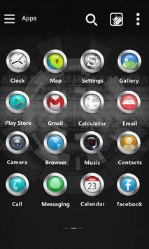Core circle GO Launcher Theme screenshot 1