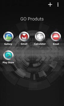 Core circle GO Launcher Theme screenshot 2