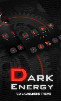 Dark Energy GO Launcher Theme poster