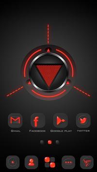Dark Energy GO Launcher Theme apk screenshot