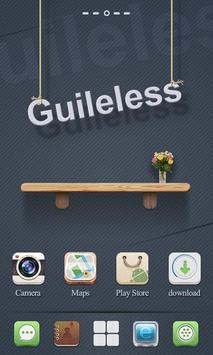Guileless GO Launcher Theme poster