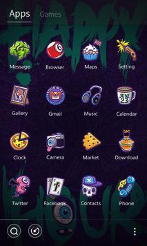 Happy Hour GO Launcher Theme apk screenshot