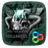 Hell Skull GO Launcher Theme icon