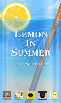Lemoninsummer GO THEME poster