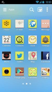 Lemoninsummer GO THEME apk screenshot