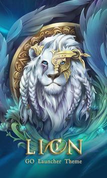 Lion GO Launcher Theme Poster