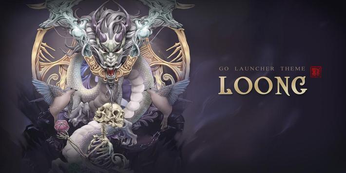 (FREE) Loong GO Launcher Theme apk screenshot