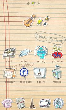 Parisien - GO Launcher Theme poster